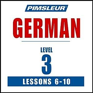 German Level 3 Lessons 6-10 Speech