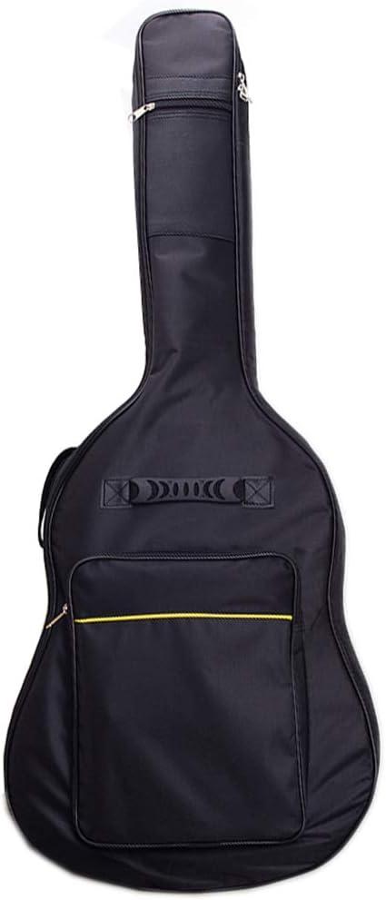 Funda para guitarra acústica de doble correa de 41 pulgadas ...