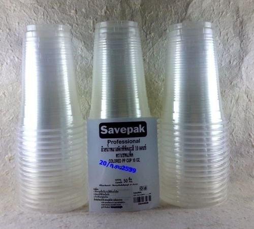 Clear Plastic Party Disposable Cups Drinking Glass cups dixie PP Cup 22 oz 100 pcs (Uk Bowl Punch)