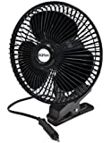 Max Burton 12 Volt 8-Inch Oscillating 2-Speed Fan