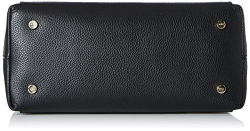 Tous Bowling Estelia de Piel - Borse Donna, Negro (Black), 14x24x31 cm (W x H L)