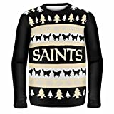 Forever Collectibles NEW ORLEANS SAINTS ONE TOO MANY UGLY SWEATER