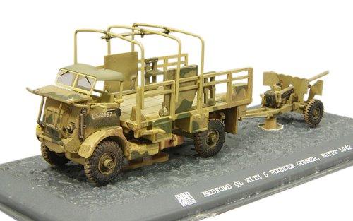1/72 ベッドフォードQLトラック+6ポンド砲 イギリス陸軍 1942年 エジプト TK0043
