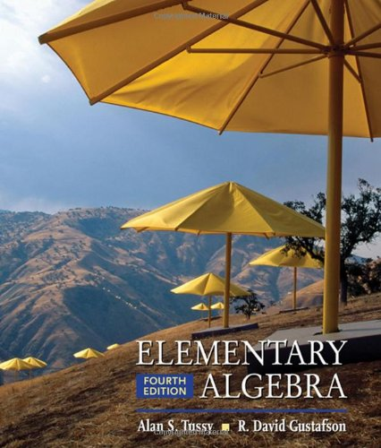 Elementary Algebra (Available 2010 Titles Enhanced Web Assign)