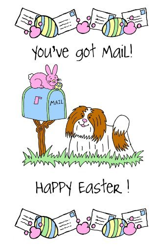 Crunchkins Crunch Edible Card, You've Got Mail, Happy Easter by Crunchkins