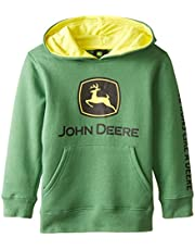 John Deere Little Boys Logo Fleece Hoodie