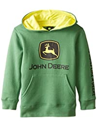 John Deere boys Little Boys Trademark Fleece Green Child Hoodie