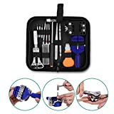 watch battery replacement tool - GHB Watch Repair Tool Kit Case Portable Watch Back Removing Tool with a Free Hammer Watch Fixing Tool