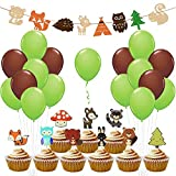 Woodland Party Supplies Woodland Creatures for Baby Shower Decorations