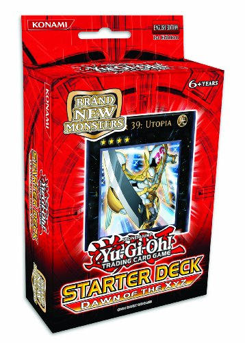 YuGiOh ZEXAL 2011 Starter Deck Dawn of the XYZ New Series New Monster Type! (The Best Xyz Monsters)