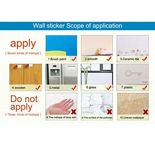 SimpleLife4U Exotic Style Self-Adhesive Shelf Liner PVC Contact Paper Refurbish Old Dining Table Bed Headboard 17.7 Inch By 13 Feet by SimpleLife4U (Image #4)