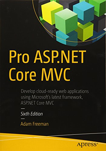 Pro ASP.NET Core MVC (Best Mvc Tutorial C#)