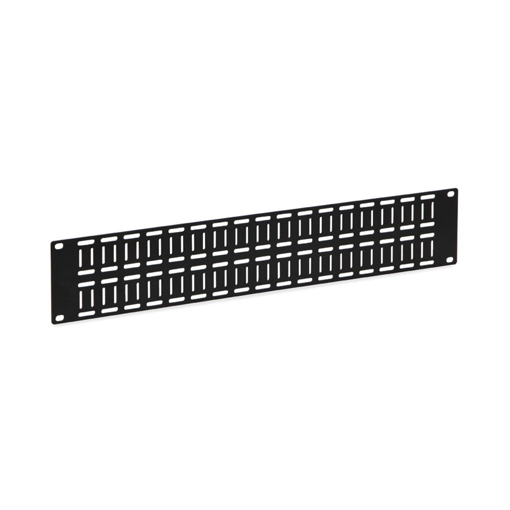 2U Flat Cable Lacing Panel - 10 pack
