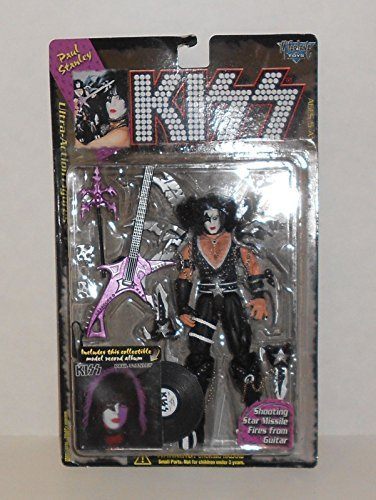 Kiss Paul Stanley (1997 Kiss Paul Stanley Ultra Action Figure with Model Record Album)
