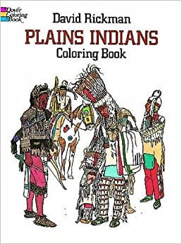 Book Plains Indians Coloring Book (Dover History Coloring Book)