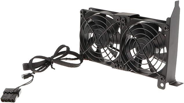 non-brand PCI - Ventilador para Placa Base (VGA, silencioso, 90 mm ...