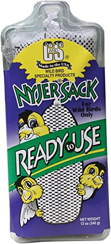 Cands Products CS08951 12-Ounce Ready to Use Nyjer Sack Wild Bird Food -