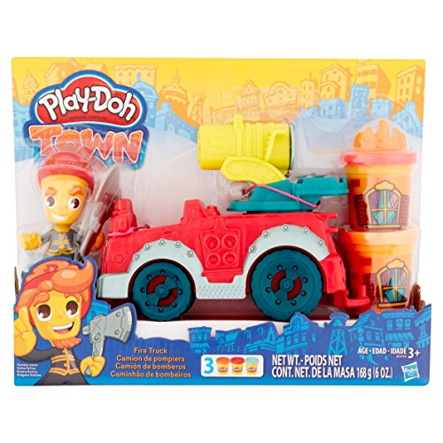 Play-Doh Town Fire Truck - New Firehouse Safety Vehicle Model - In Laguna Malls