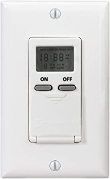 intermatic digital timer wiring diagram intermatic ei500wc 7 day single pole digital time switch  white  intermatic ei500wc 7 day single pole