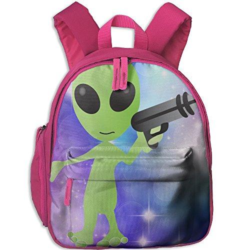 Mars Attacks Martian Girl Costume - Alien With Ray Gun Children Polyester Oxford Shoulders Bag,Randoseru For Girls