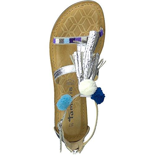 Tamaris , Sandales pour femme argent Silber