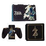 PowerA Hybrid Cover with Legend of Zelda Joy-Con Comfort Grip & Premium Card Cases Kit - Nintendo Switch