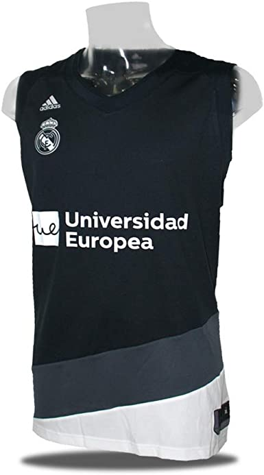Adidas Camiseta Baloncesto Real Madrid 18 19 Negra Xl Amazon Es Ropa Y Accesorios