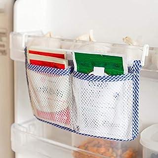 HarveyRudol85 Sac de Rangement Mesh Creative Réfrigérateur Hanging Sac de Rangement Organisateur Alimentaire