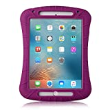 iPad Mini 4 Case - iXCC Shockproof Silicone Protective Rubber Soft Gel Case Cover [Drop Proof - Kids Proof - Shock Proof - Anti slip] - Purple