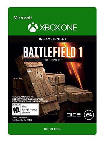 Battlefield 1: Battlepack x5 - Xbox One Digital Code