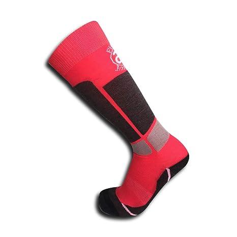 2 pares de calcetines infantiles (niño/niña) perfectos para mantenerse caliente esquiando o