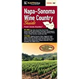 Napa - Sonoma Wine Country Guide Fold Map
