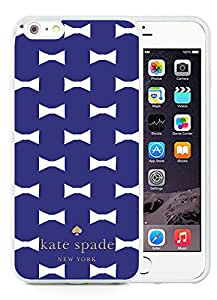 Personalized Design Customize iPhone 6 Protective Case Kate Spade New York Silicone TPU Case for iPhone 6 4.7 inch Cover 171 White