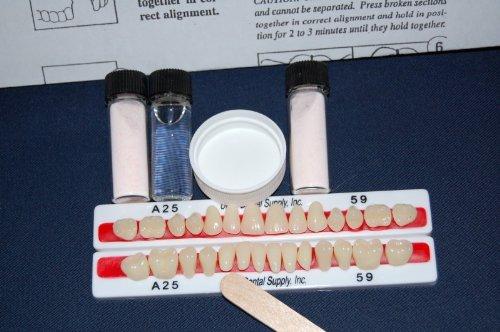 Amazon perk denture repair kit with 28 denture teeth pink amazon perk denture repair kit with 28 denture teeth pink health personal care solutioingenieria Image collections