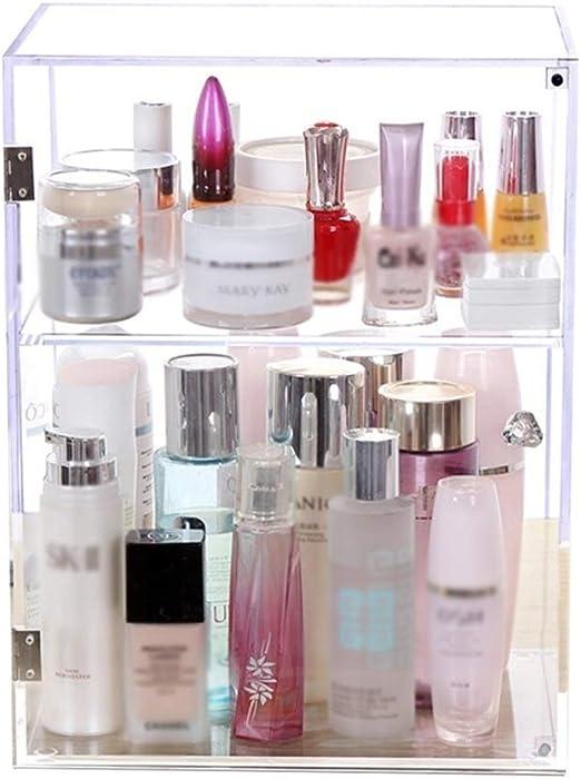 BeautyStorage Organizador de Maquillaje acrílico para pintalabios y cosméticos, Caja de joyería, Soporte de exhibición: Amazon.es: Hogar