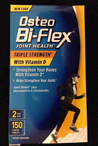 Osteo Bi-Flex Triple Strength Caplets, 150 Count Easy Osteo Bi Flex Caplet Vitamins