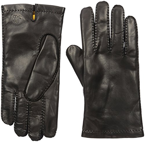 Hickey Freeman Men's Hand Sewn Basic Contrast Forchettes, Black/Navy, 8.5