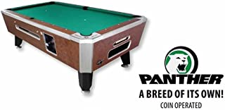 """product image for Valley 88"""" Coin Op Panther Pool Table - Cheyenne Leather"""