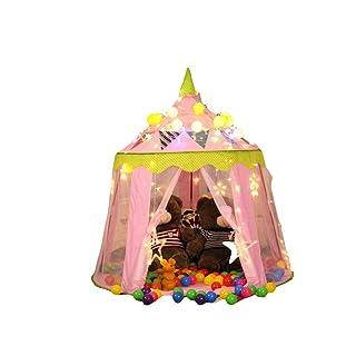 Tenda per Bambini Portatile Castello Stanza dei Giocattoli Indoor E Outdoor Festival Regalo