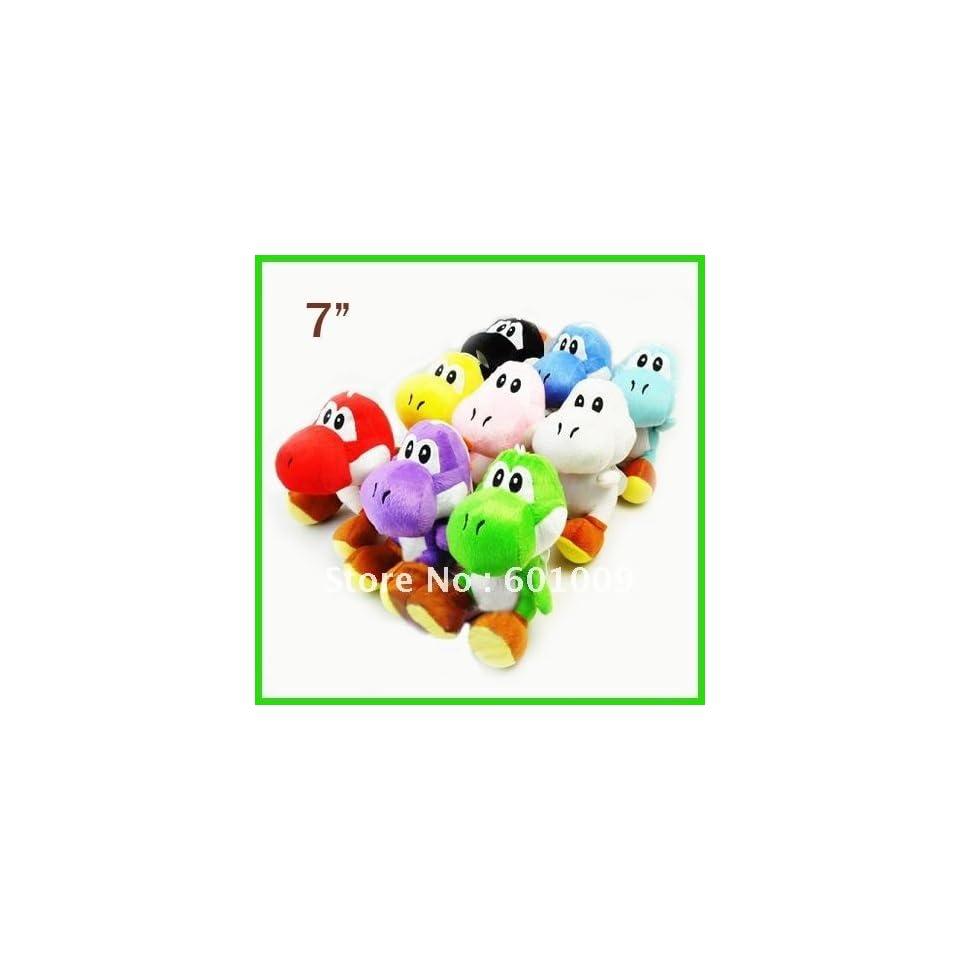 super mario bros yoshi plush anime 7 cos figure#1 whole Toys & Games