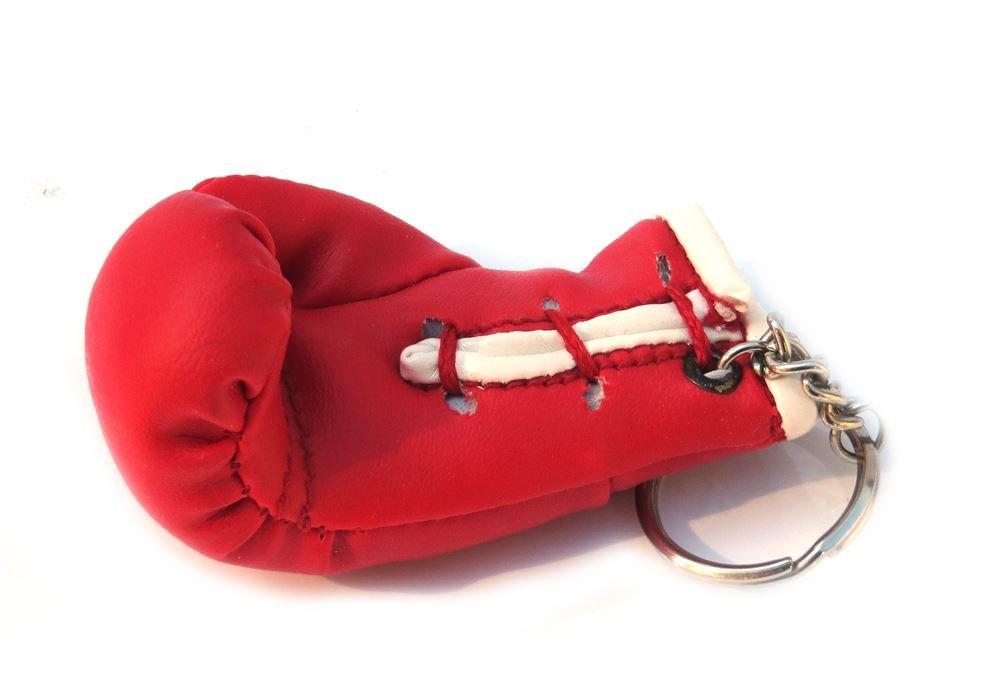 Llavero splay guante rojo