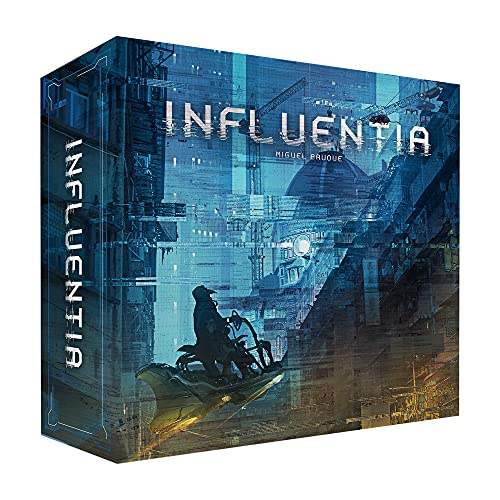 Influentia Board Game | Family Board Game for Kids and Adults | Strategy Board Game | Fun Board Game for Game Night | Ages 10 and up | 3 to 4 Players | Average Playtime 45 Minutes | Made by Ludonova