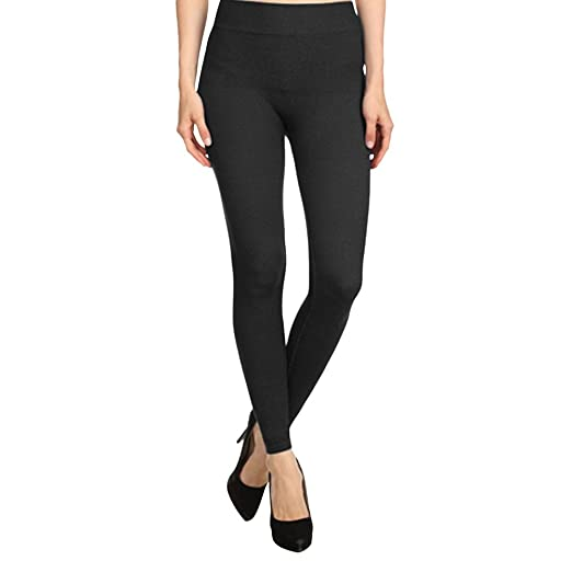 265c64e018a6d ShoSho Women s French Terry Leggings - Regular   Plus Sizes