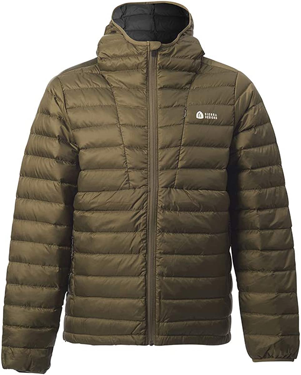 800 Fill Winter Down Jacket Sierra Designs Mens Whitney DriDown Hoodie