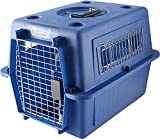Petmate 21142 Vari Kennel Ultra Fashion, Small (Bleached Linen/Peacock Blue)
