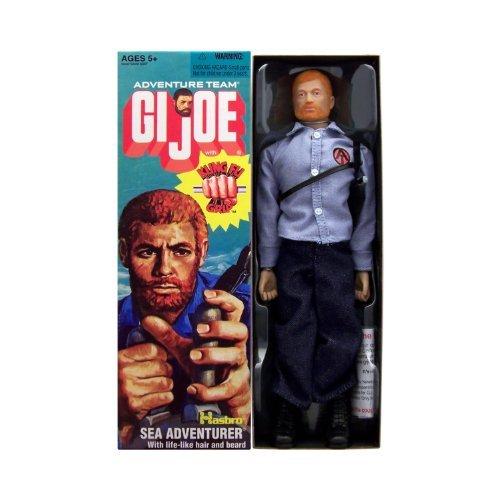 "12"" GI Joe Adventure Team Sea Adventurer with Kung-Fu Grip Action Figure"