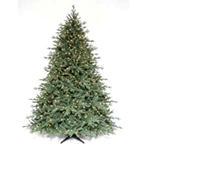 Martha Stewart Living 7 5 Ft Pre Lit Royal Sarah Spruce Artificial