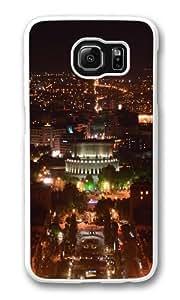Armenia Yerevan At Night Custom Samsung Galaxy S6/Samsung S6 Case Cover Polycarbonate White