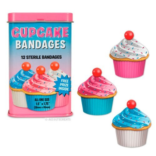 Accoutrements Cupcake Bandages by -