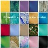 Spectrum & Wissmach COE 96 FUSIBLE GLASS PACK 20 SHEETS 6'' x6''